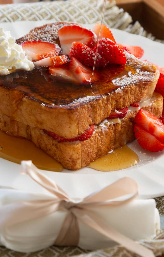 French toast at our Southern Maine Bed and Breakfast